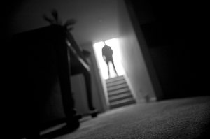 Is that you at the top of my stairs? If so, you could be a stalker.Photo: Big Stock